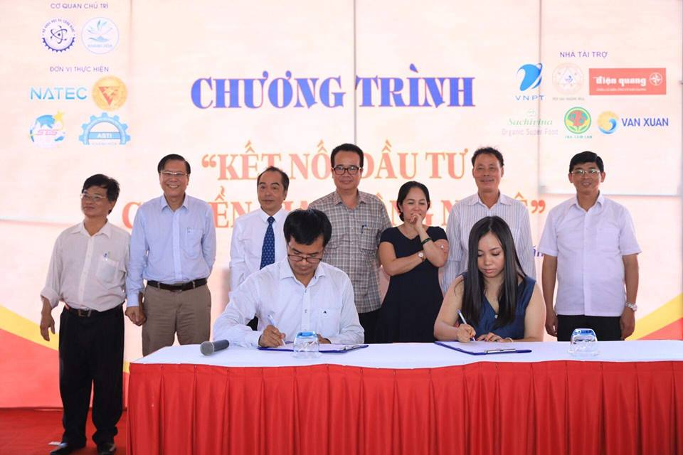 The Hai Yen signed a contract to transfer technology of preliminary processing and preservation of swiftlet