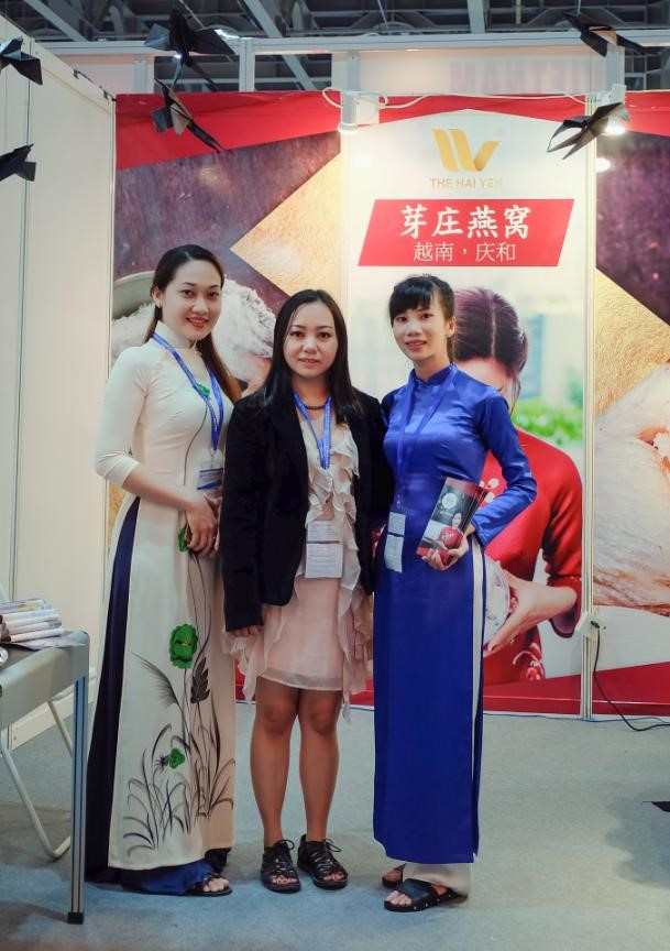 Nha Trang Salanganes'Nest present at the International Exhibition Fair MRS-EXPO (China)