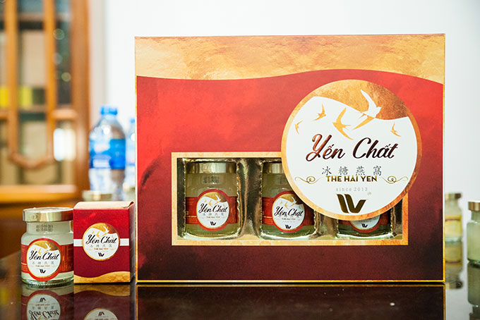 Yen chat ( 30% Salangane nest ) is one of two export products